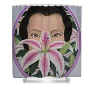 Lily's Eyes Shower Curtain