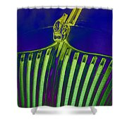 Lime Drop Shower Curtain
