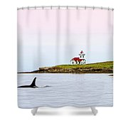 Lime Kiln I Shower Curtain