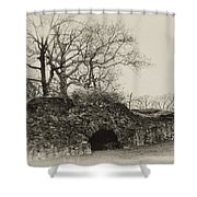 Lime Kilns At Plymouth Meeting Shower Curtain