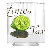 Lime Tart Shower Curtain