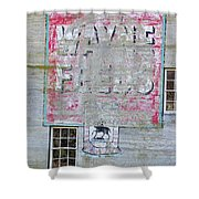 Lime Valley Mills Shower Curtain