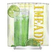 Limeade Shower Curtain