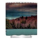 Limekiln Lake Shower Curtain