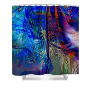 Limelight Shower Curtain