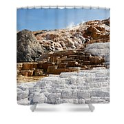 Limestone Shower Curtain
