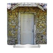 Limestone House Door Shower Curtain
