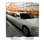 Limo Waiting Shower Curtain