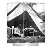 Lincoln & Mcclellan Shower Curtain