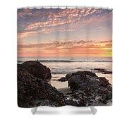 Lincoln City Beach Sunset - Oregon Coast Shower Curtain