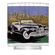 Lincoln Continental Mk I Shower Curtain