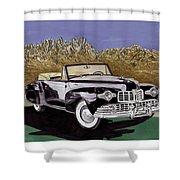 Lincoln Continental Mk I Shower Curtain
