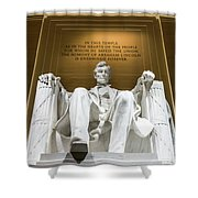 Lincoln Memorial 2 Shower Curtain