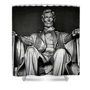 Lincoln Memorial Shower Curtain by Daniel Hagerman