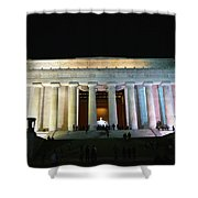 Lincoln Memorial - From Reflecting Pool Shower Curtain