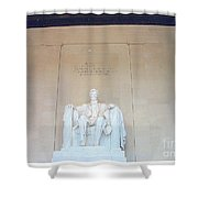 Lincoln Memorial Shower Curtain by Kevin Croitz