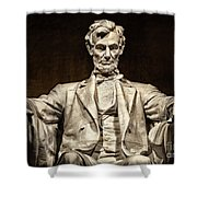 Lincoln Monument Shower Curtain