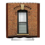 Lincoln Park Window Shower Curtain