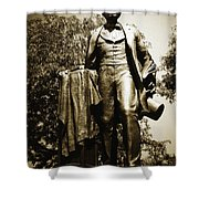 Lincoln Square Shower Curtain