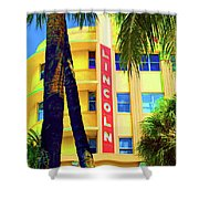 Lincoln Theatre - Sobe Shower Curtain