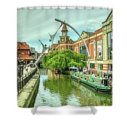 Lincoln Waterside  Shower Curtain