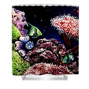 Lindsay's Aquarium Shower Curtain