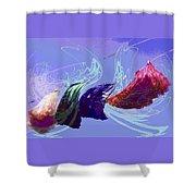 Line Dance Shower Curtain