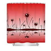 Line Of Defense Shower Curtain