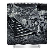 Line Of Descent Shower Curtain