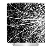 Linear Abstract 2 Shower Curtain