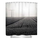 Linear Shower Curtain