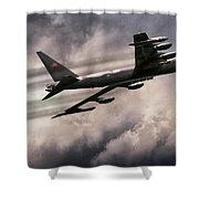 Linebacker Load Shower Curtain