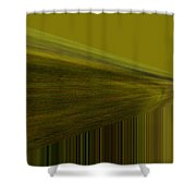 Lined Abstract  Shower Curtain
