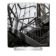 Lined Stairway - 200340 Shower Curtain