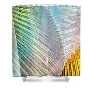 Linen Astract Shower Curtain