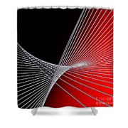 Lines -1- Shower Curtain