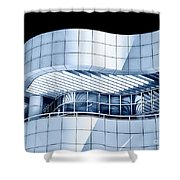Lines And Curves Shower Curtain