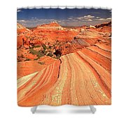 Lines To Magnificence Shower Curtain