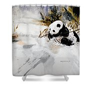 Ling Ling Shower Curtain