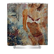Lingerie 57 Shower Curtain
