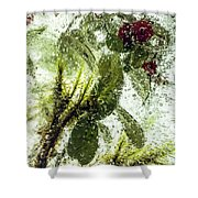 Lingonberry Shower Curtain
