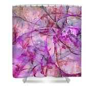 Linguistry Leafless  Id 16097-232542-78250 Shower Curtain