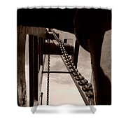 Link To The Jib Shower Curtain