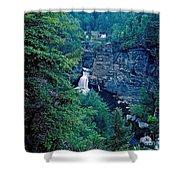 Linville Falls - North Carolina Shower Curtain