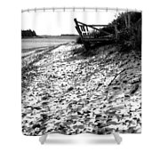 Linwood's Dock 23 Shower Curtain