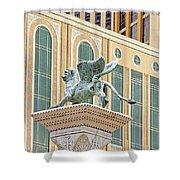 Lion Angel Shower Curtain