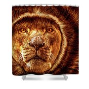 Lion Lady   -1 Shower Curtain