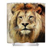 Lion Majesty Shower Curtain