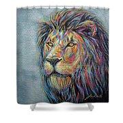 Lion No.3 Shower Curtain