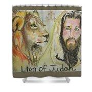 Lion Of Judah Shower Curtain